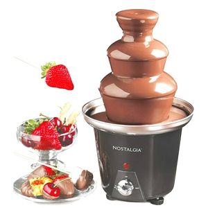 BNIB 3 tier chocolate fondue fountain